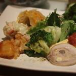 卯月 - 料理写真:おすすめランチ(前菜の盛り合わせ)
