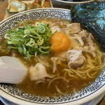丸源ラーメン -  チャーハン餃子ランチ 1,078円 (肉そば)