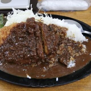 男の厨房 - 料理写真:ランチ カツカレー