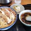 中華飯店青柳 - 料理写真:煮かつ丼