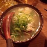 丑寅 - 塩つくねのスープ