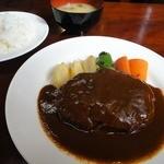 高芝 - 料理写真:ハンバーグ定食!1100円