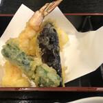 富水 - なかなかな天ぷらです