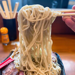 153168218 - つけ麺(大) 1150円                       チャーシュー増 3枚 300円