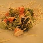 15317595 - 海老とブロッコリーの辛子マヨネーズ和え
