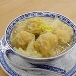 香港式ワンタン麺