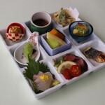 日本料理 矼 - 7月「色彩御膳」