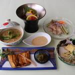 日本料理 矼 - 7月季節のミニ会席「夏霞」