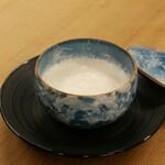 牛乳と卵白のプリン