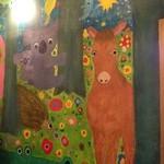 ハティフナット - 可愛らしい壁の絵