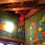 ハティフナット - 天井にタコが・・・