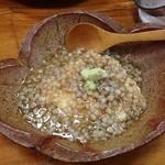 Shiduka - サワラのそばの実餡かけ