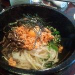 韓国野菜料理 JUN - ランチ★石焼ビビンパ(音も一緒に)*イメージして~