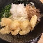 さぬきうどん よし田 - 料理写真:えび天ぶっかけ大盛り(≧∇≦)❤️