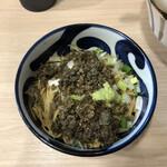 煮干しらーめん 田中にぼる - 追い玉醤油わさび(350円)