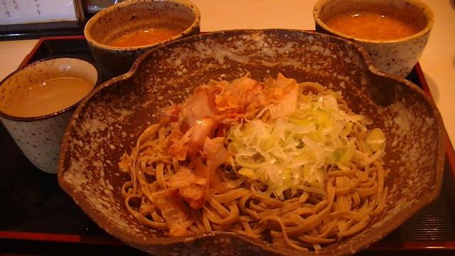 ゆう生庵 - ピりカリおろし蕎麦(辛味大根)の大盛り)