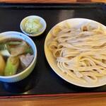 駕籠休み - 料理写真:肉汁うどん(小盛)