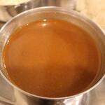 焼肉・塩ホルモン 三ちゃん - カレースープ