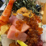 江戸富士 - うにトロいくら