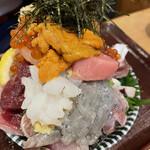 江戸富士 - タコイカ生しらす