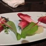 舞桜 - カツオのカルパッチョ