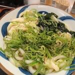 竹清 - かけうどん中(1.5玉)400円