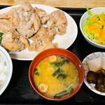 雛どり - 鶏唐揚定食