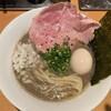 麺屋 まほろ芭 - 料理写真:泥煮干中華そば煮卵入り900円