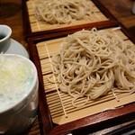 銀蕎麦國定 - せいろ盛り(¥700)。