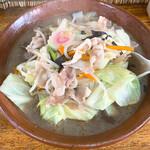 淀川 - 料理写真:器は何とすり鉢