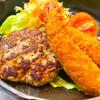 グリル ふらいぱん - 料理写真:このハンバーグが秀逸で不思議 子供の頃、デパートで食べたご馳走と同じ味です!