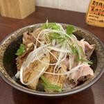 麺屋 七利屋 - 焼豚丼 250円