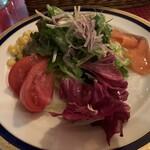 レストラン&パティスリー 木かげ茶屋 - グルメセットサラダ
