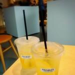 フリゴレス - ドリンク写真:レモネード&レモンスカッシュ