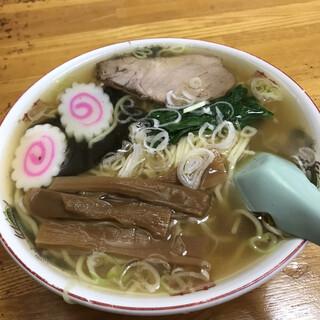 中華ソバ 坂本 - 料理写真:ビジュアルはイイ