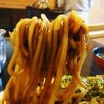 大釜 - 中太麺