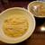 らぁめん しゅき - 料理写真:煮干し水の塩つけ麺