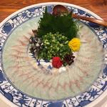 魚料理専門 魚魚一 - うなぎの刺身
