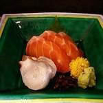 松竹膳處 - タスマニアサーモンとタコの刺身