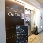 Cafe One Time - 大街道交番前付近、2Fにあります。