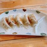 麺屋 よつ葉 - 餃子