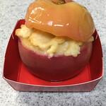あら、りんご。 - 焼きりんご(自宅にて撮影) 瑞々しさがたまりません!