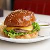 ドキンズ ハート シェイプ カフェ - 料理写真:ハンバーガー