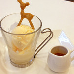 Cafe fuWAri - アフォガート 420円