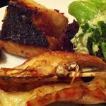 ラ ファーメ - 本日の魚介 炭火焼盛り合わせ
