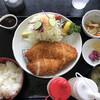 紫峰 - 料理写真:チキンカツ定食¥900
