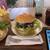 Cerbiatto Caffe - 料理写真:ハンターズバーガー&セット~☆