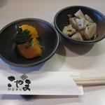 お食事処こやま - ランチの小鉢は2品