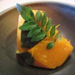 お食事処こやま - 小鉢の南瓜