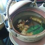 15329335 - 吸物:松茸の土瓶蒸し